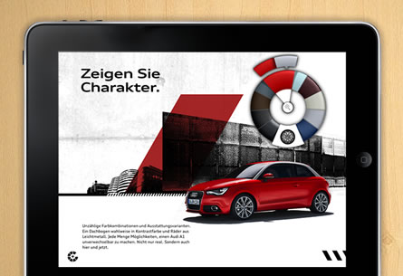 AUDI A1 e-catalogue